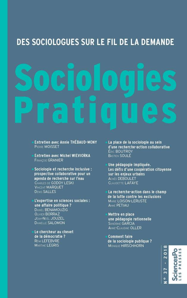 Sociologies Pratiques 37