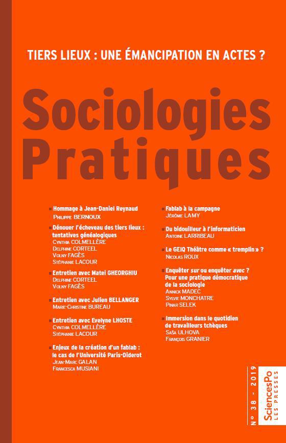 Sociologies Pratiques 38